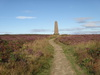 The Captain Cook Monument on Easby Moor.