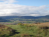The view from the Captain Cook Monument on Easby Moor.