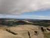 The view from Roseberry Topping summit.