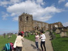 The church near Whitby Abbey.