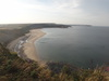 The view along Cayton Beach from Lebberston Cliff.