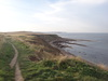 The view west from Gristhorpe Cliff.