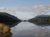 Looking south down Loch Oich.