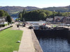 The locks at Fort Augustus.