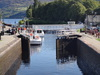 A lock at Fort Augustus.