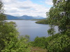 The view north up Loch Lomond from Craigie Hill.