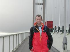 P2002A230051	Myself standing on the Humber Bridge.