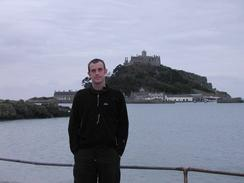 P20032050063	Myself standing in front of St Michael's Mount.