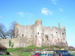 P20033130014	Laugharne Castle.