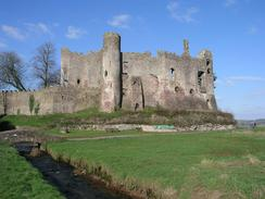 P20033130015	Laugharne Castle.