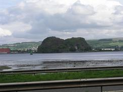 P20036023605	The view across the river towards Dumbarton Castle.