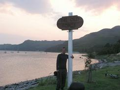 P20037175479	Myself at the Inverie sign.