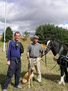 P20038270182	Myself, simon, dog and horse.