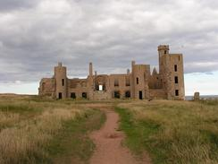 P20039098431	The ruins of Slains Castle.