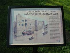 P20034091816	An information board about Newark Castle.