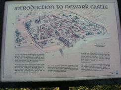 P20034091820	An information board about Newark Castle.