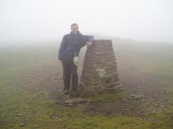 P20049041708	Myself at Ingleborough trig point.
