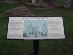 P2004C112831	An information board about Colchester Castle.