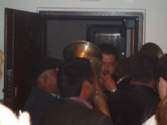 P20067010026	The brass band in the flat.