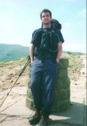 O28	Myself standing at Hollins Cross.