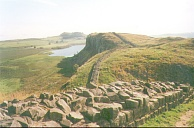 ZZ29	Crag Lough from Hadrian's Wall near Milecastle 39.