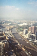 AE14	The view from the Rialto Tower Observation Deck in Melbourne.